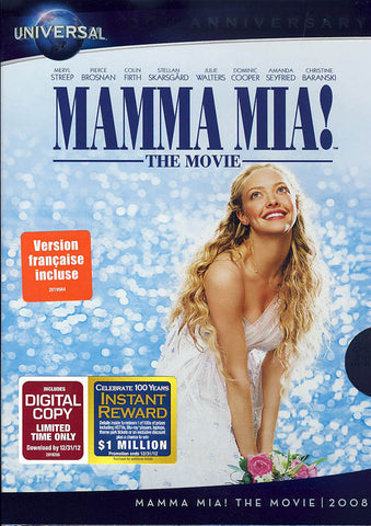 Mamma Mia! The Movie (Universal s 100th Anniversary) DVD Movie