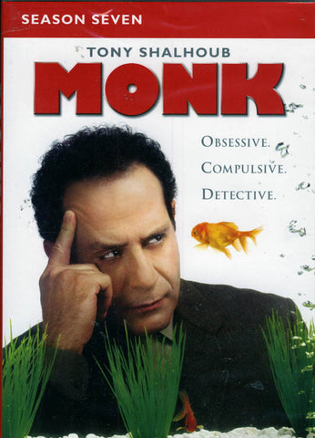 Monk - Season (7) Seven(Keep Case) (Boxset) DVD Movie