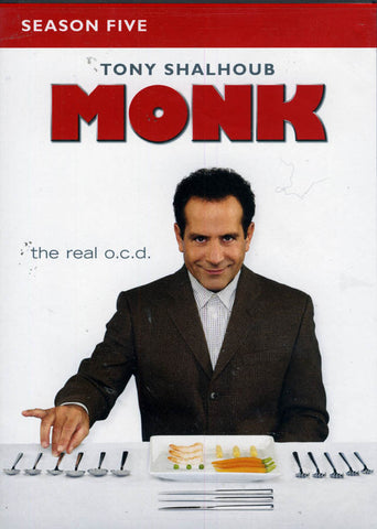 Monk - Season (5) Five (Keep Case) (Boxset) DVD Movie