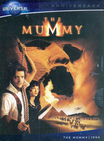 The Mummy (DVD + Digital Copy) (Universal's 100th Anniversary) DVD Movie