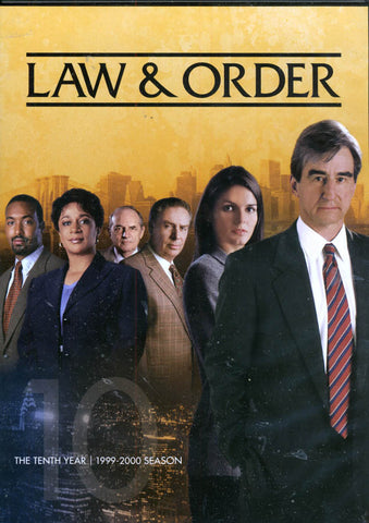 Law and Order - The Tenth Year (10) (1999-2000) (Boxset) DVD Movie