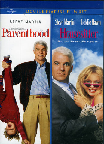 Parenthood / Housesitter (Double Feature Film Set) DVD Movie