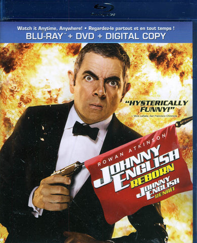 Johnny English Reborn (Blu-ray + DVD + Digital Copy) (Bilingual) (Blu-ray) BLU-RAY Movie