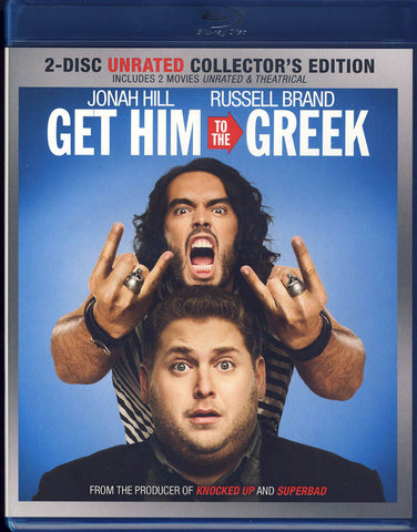 Get Him to the Greek (72 Heures)(2-Disc Unrated Collector's Edition) (Blu-ray) BLU-RAY Movie