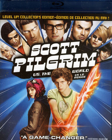 Scott Pilgrim Vs The World (Blu-ray + DVD Combo) (Bilingual) (Blu-ray) BLU-RAY Movie
