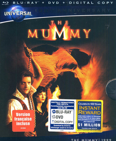 The Mummy (La Momie) (Blu-ray + DVD)(Blu-ray) BLU-RAY Movie