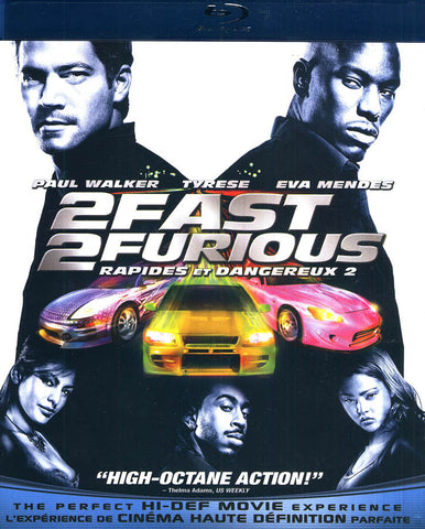 2 fast 2 furious rapides et dangereux 2 bilingual blu ray on blu ray movie. Black Bedroom Furniture Sets. Home Design Ideas