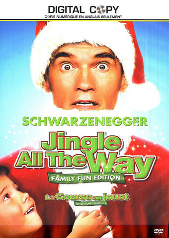 Jingle All The Way (Family Fun Edition + Digital Copy) (Bilingual) DVD Movie