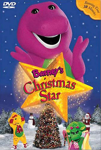 Barney - Christmas Star (Includes 15 Holiday Songs) DVD Movie