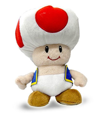 Super Mario - Toad Plush DVD Movie