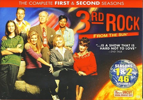 3rd Rock From The Sun - Season 1 and 2 (Boxset) DVD Movie