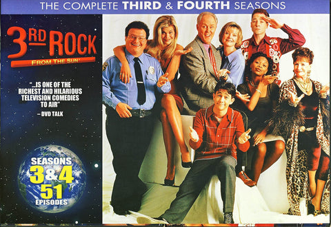 3rd Rock From The Sun - Season 3 and 4 (Boxset) DVD Movie