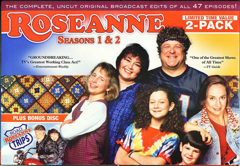 Roseanne - Season 1 and 2 (Boxset) DVD Movie