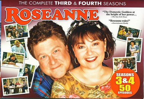 Roseanne Season 3 and 4 (Boxset) DVD Movie