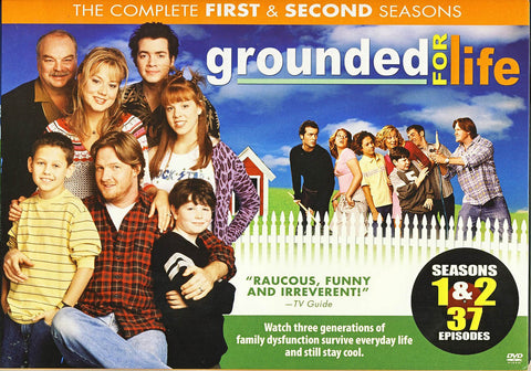 Grounded For Life - Season 1 and 2 (Boxset) DVD Movie
