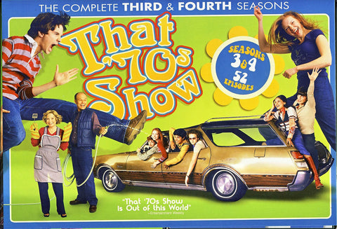 That '70s Show - Season 3 and 4 (Boxset) DVD Movie