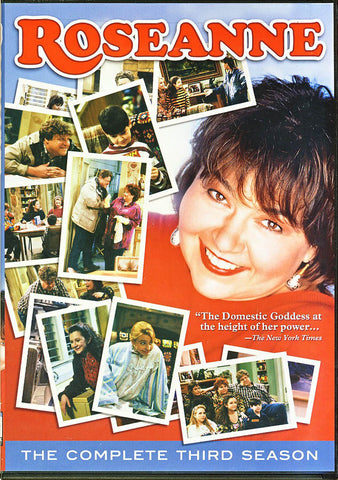 Roseanne - The Complete Third (3) Season (Boxset) DVD Movie