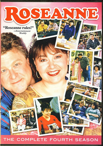 Roseanne - The Complete Fourth (4) Season (Boxset) DVD Movie