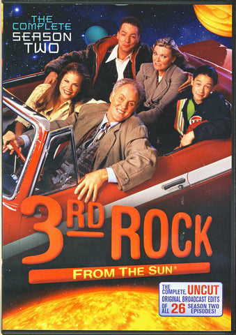 3rd Rock From The Sun - Season 2 DVD Movie