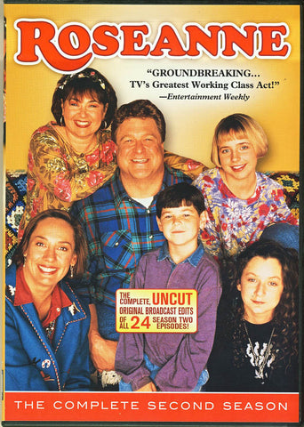 Roseanne - The Complete Second (2) Season (Boxset) DVD Movie
