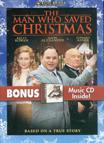 The Man Who Saved Christmas with Bonus CD: Simply Christmas (Boxset) DVD Movie