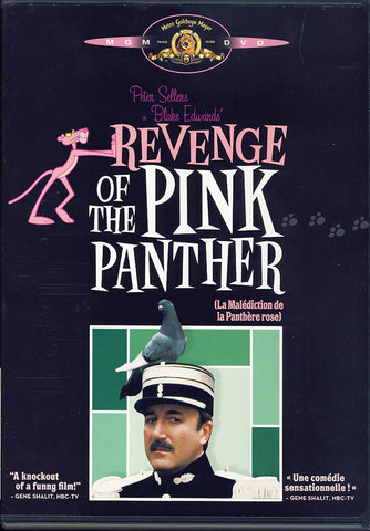 Revenge Of The Pink Panther (Bilingual)(Black Cover) DVD Movie