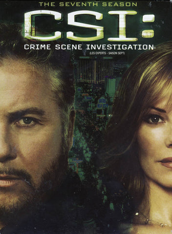 CSI - The Seventh Season (7) (Boxset) (Bilingual) DVD Movie