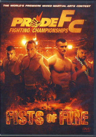 Pride Fighting Championships - Fists of Fire DVD Movie