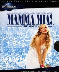 Mamma Mia! The Movie (Blu-ray + DVD + Digital Copy) (Universal's 100th Anniversary) (Blu-ray)