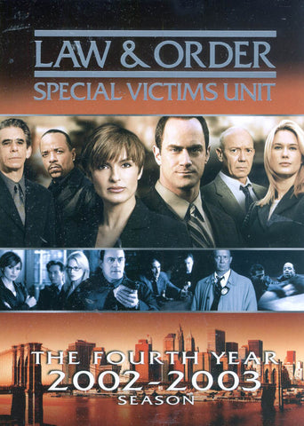 Law & Order - Special Victims Unit - The Fourth Year (Boxset) DVD Movie