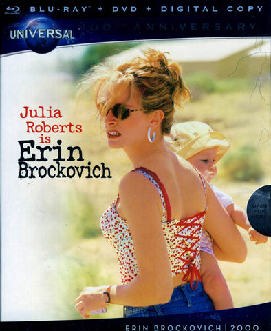 Erin Brockovich (DVD+Blu-ray) (Bilingual) (Blu-ray) BLU-RAY Movie