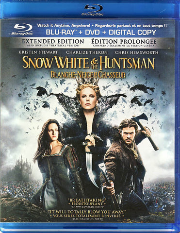 Snow White & the Huntsman - Extended Edition (DVD+Blu-ray) (Blu-ray) (Bilingual) BLU-RAY Movie