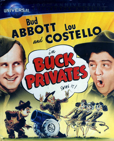 Buck Privates (Blu-ray + DVD) (Blu-ray)(Universal s 100th Anniversary) BLU-RAY Movie