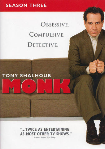 Monk - Season Three (Boxset) DVD Movie