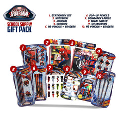 Spider-Man School Supply Gift Pack