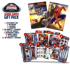 Spider-Man 3 (Exclusive Mini Comic Book,Magnifying Glass and Spider-Man School Supply Gift Pack)
