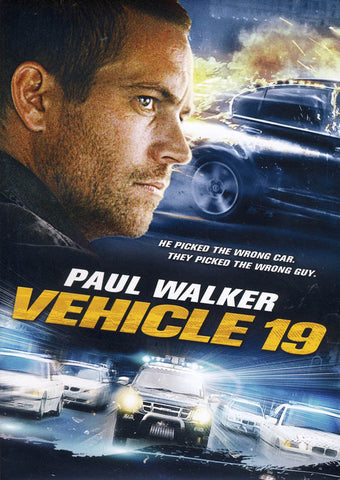 Vehicle 19 DVD Movie