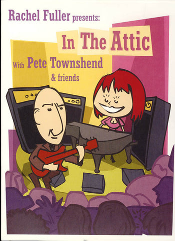 Rachel Fuller Presents in the Attic with Pete Townsend & Friends DVD Movie