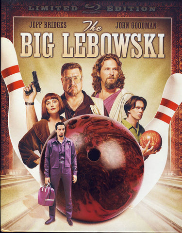 The Big Lebowski (Limited Edition) (Blu-ray Book + Digital Copy) (Blu-ray) BLU-RAY Movie