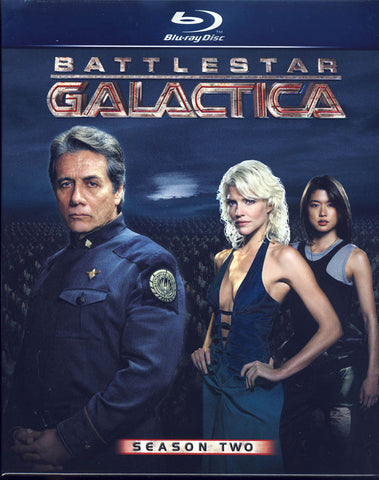 Battlestar Galactica - Season Two (Blu-ray) (Boxset) BLU-RAY Movie