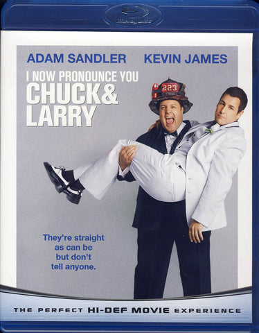 I Now Pronounce You Chuck & Larry (Blu-ray) BLU-RAY Movie