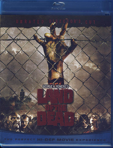 Land of the Dead (Unrated Director's Cut) (Blu-ray) BLU-RAY Movie