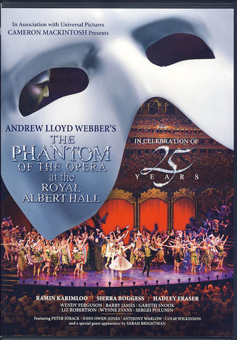 The Phantom of the Opera at the Royal Albert Hall DVD Movie