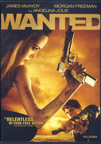 Wanted (Full Screen) DVD Movie