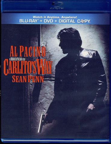 Carlito's Way (Blu-ray + DVD + Digital Copy) (Blu-ray) BLU-RAY Movie