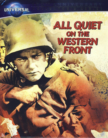 All Quiet on the Western Front (Blu-ray Book + DVD + Digital Copy) (Blu-ray) BLU-RAY Movie