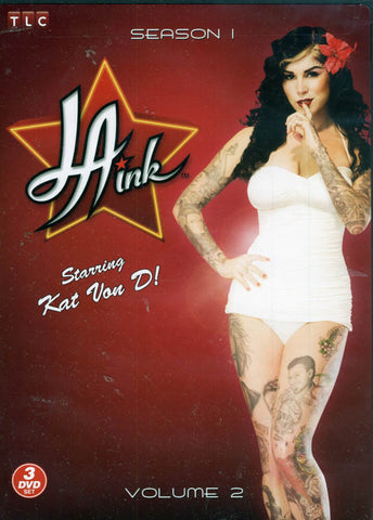 L.A. Ink - Season 1- Volume 2 (Keepcase) DVD Movie