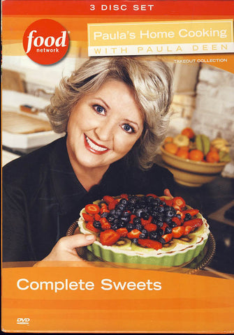 Paula's Home Cooking with Paula Deen - Complete Sweets (Boxset) DVD Movie