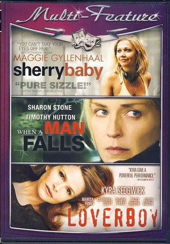 Sherrybaby / When A Man Falls / Loverboy (Triple Feature) DVD Movie
