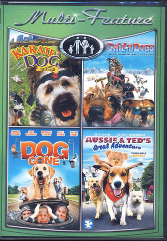 Karate Dog / Chilly Dogs / Dog Gone / Aussie & Ted's Adventure DVD Movie